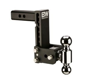 B W Tow And Stow Hitch Ball Mount 2 5 Shank Dual Ball Ts20040b