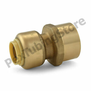 25 3 8 Sharkbite Style Push fit X 1 2 Fnpt Lead free Brass Fnpt Adapters