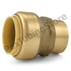 10 1 Sharkbite Style Push fit X 3 4 Fnpt Lead free Brass Fnpt Adapters