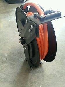 Camai 15 Retractable Hose Reel Truper For Use With Pressurized Air Or Water