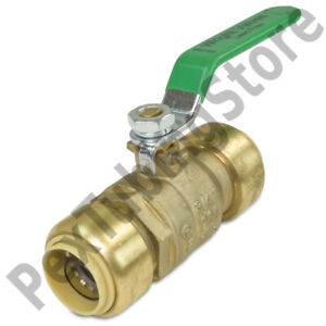 10 3 4 Sharkbite Style push fit Push To Connect Lead free Brass Ball Valves