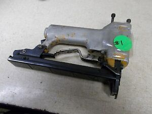 Bostitch Pneumatic Staple Gun Stapler 063536 For Parts Or Repair free Shipping