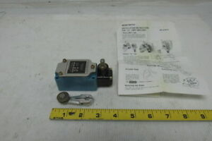 Micro Switch 11ls1 Precision Limit Switch 10a 125vac 1 2hp