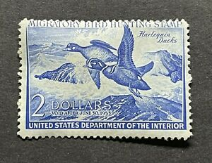 WTDstamps #RW19 1952 US Federal Duck Stamp Mint OG NH