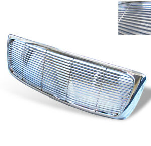 2002 2003 2004 2005 Dodge Ram 1500 Pickup 2dr 4dr Front Upper Chrome Grille New