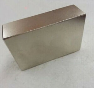 1pcs Large Ndfeb Magnet Bar Neodymium Magnets 60x40x20 Mm 60mm X 40mm X 20mm N50
