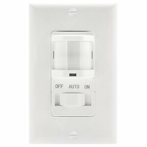 5 Pack Tsos5 Automatic Pir Occupancy Motion Sensor Light Switch Detector White