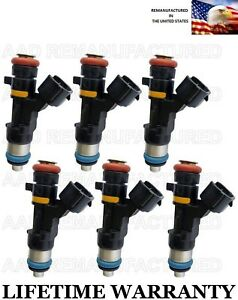 Oem Set Of 6 Fuel Injectors For Nissan Murano 350z Infiniti G35 Fx35 M35 3 5l