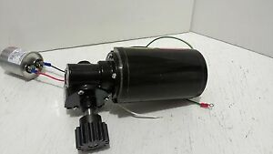 Right Angle Gear Motor Baldor Industrial 04 Hp 25 1 Ratio Output 67 Rpm 1 Phase