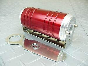 Red 8 An orb 100 Micron Stainless Steel Element S max Aluminum Fuel Filter