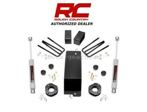 2007 16 Chevrolet Gmc 1500 4wd 3 5 Rough Country Lift Kit Cast Stee
