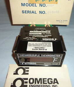 Omega 115 k f Thermocouple Digital Thermometer 115kf New