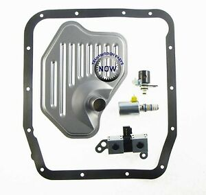 Ford 4r70w Transmission Shift Tcc Lock Up Epc Aode Kit 1998 03 Filter 76431beak