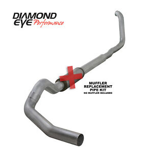 Diamond Eye 5 Exhaust 1999 2003 Ford F250 F350 Diesel 7 3l No Muffler K5322a rp