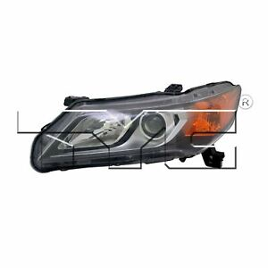 Left Side Replacement Headlight Assembly For 2013 2014 Acura Ilx
