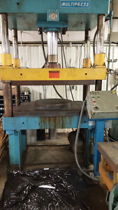 Industrial 4 Post Hydraulic Press