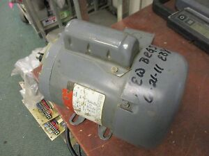Ac Motor Xtm 12 0 50hp 1ph 1725rpm 115 208 230v 8 3 8 4a Used