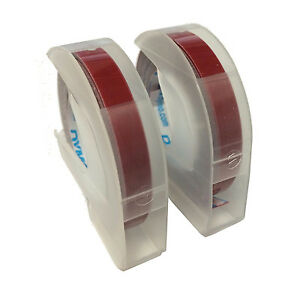 Dymo Embossing Tape 0 25 Inches 2 Pack