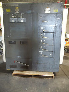 Cutler Hammer Section Switchboard Electrical Panel Mp200 1200 Amp
