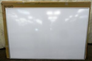 Foray Dry Erase Board 717 218 White Board 48 X 72 Aluminum Framed