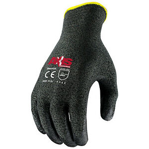 Radians Rwg532 Axis Touchscreen Cut Protection Level 3 Work Glove
