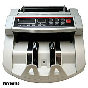 New Currency Counter Count Bill Money Cash Counting Machine Counterfeit Detector