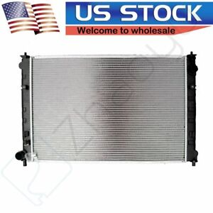 New Aluminum Radiator Fits Cu2768 For 2002 2005 Mazda Mpv 3 0l 1 Inch Thickness