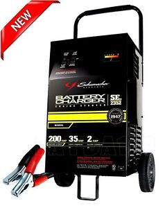 Heavy duty 12v Car Battery Charger Portable Booster Power Jump Starter 200 Amp