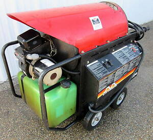 Used Mitm Hhs 3004 oe2g Hot Water Pressure Washer