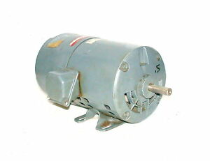 Ge 1 2 Hp 3 Phase Ac Motor230 460 Vac Model 5k42h62696