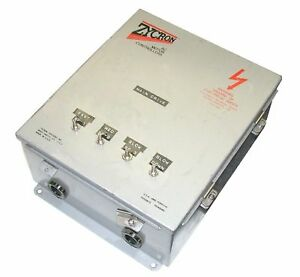Zycron Systems 2hp Ac Motor Controller Model Zac 200