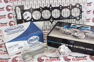 Cp Piston 84 5mm 8 5 1 Twin Vanos Eagle Rods Cometic Head Gasket Set For Bmw M54
