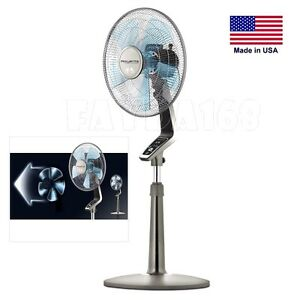 4 speed Floor Fan Stunning High Velocity Pedestal Oscillating Industrial Remote
