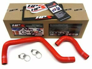 Hps Silicone Radiator Hose Red Acura 1994 2001 Integra B20 57 1003 red 2