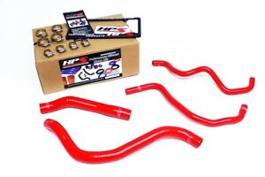 Hps Silicone Radiator Heater Hose Red 2008 2012 Accord 3 5l V6 Left Hand Drive