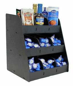 Condiment Organizers Displays For Coffee Shops Restaurants Convenient Stores