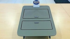 New Console Cup Holder Metal Finish 2007 2014 Gmc Sierra W D07 Gat 23164630