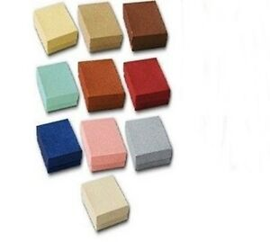 Lot 500 Small Embossed Fibre Cotton Fill Jewelry Gift Boxes 1 7 8 X 1 1 4 X 5 8
