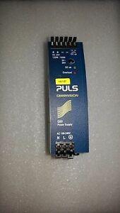 Puls Qs5 241 Power Supply Input 100 240v Output 24 28vdc 5a for Rail Mount