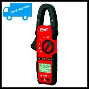 Milwaukee Digital Clamp Meter Multimeter Test Ac Dc Current Electrical Tester