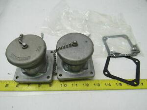 Crouse Hinds Ar347 Arktite Body Grounded Connector Plug 30a 600 V Lot Of 2