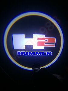 2pcs Hummer Car Door Led Welcome Laser Projector Logo Ghost Shadow Light