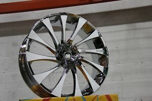 26 Inch Chrome Dcenti Dw29 Wheels Rims 20 24 26 28