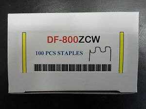 100 Pieces Hot Stapler Staples Compatible With Z Clip Dtf Df 800zcw