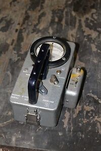 Eberline Geiger Counter Model E 140