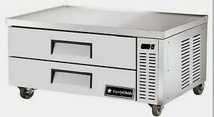 New Equipchefs Cb52 52 Refrigerated Chef Base W 2 Drawers On Casters Cb 52