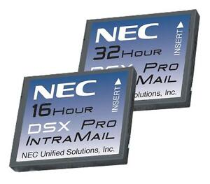 Nec Dsx 1091013 V1 3 Intramail 16 hour Voice Mail Card Warranty