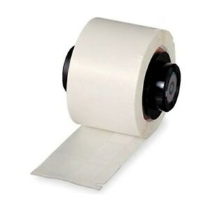 Brady Ptl 19 422 White Tls2200 Polyester Labels 1 0 X 1 0 Roll 250
