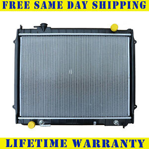 Radiator For 1995 2004 Toyota Tacoma L4 V6 Measure Core 18 11 16 Between Tanks