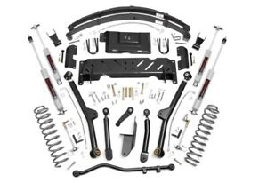 Jeep Cherokee Xj 6 5 Long Arm Suspension Lift Kit W N3 Shocks 1984 2001 Np242